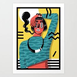 POP 1 Art Print