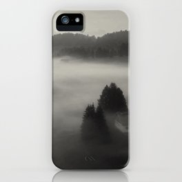 In the fog with you iPhone Case