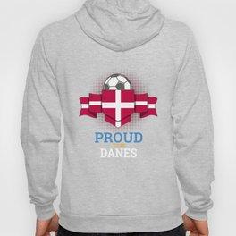 Football Danes Denmark Soccer Team Sports Footballer Goalie Rugby Gift Hoody