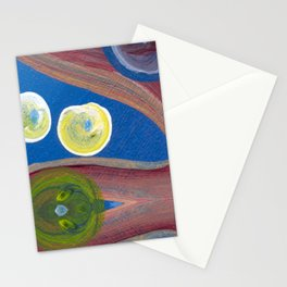 Transitions - Playful passionate inspiration reflections Stationery Cards