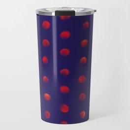Total eclipse of the polka dot Travel Mug