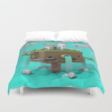 Colorful Island Duvet Cover