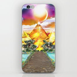 Evening Glow iPhone Skin