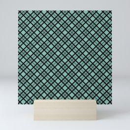 beautiful plaid 2 Mini Art Print