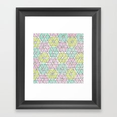 rhinestones 5 Framed Art Print