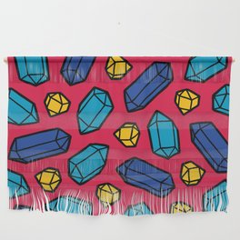 Bright Gems Pattern Wall Hanging