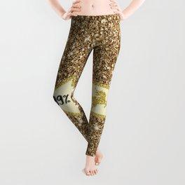 99% Unicorn - sparkling Glitter print Leggings
