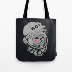 Spaceman cat Tote Bag