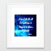 inspirational Framed Art Prints featuring Inspirational by 2sweet4words Designs
