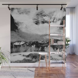 Wanderlust And Blurred Vision Before Summit Wall Mural