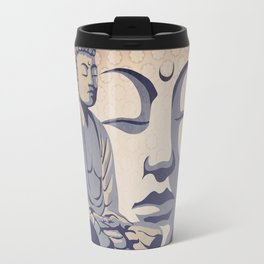 Zen Buddha: Awakened and Enlightened One Travel Mug