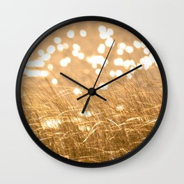 Seeing Spots Wall Clock