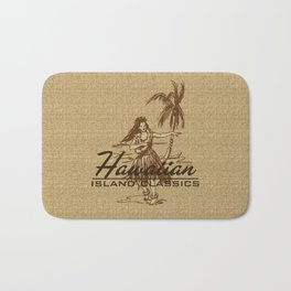 Tradewinds Hawaiian Island Hula Girl Bath Mat
