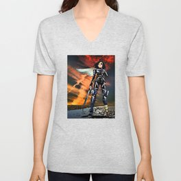 Ouroboros – Battle Angel Alita Unisex V-Neck