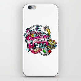 Feed Me Pizza iPhone Skin