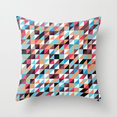 Quilted Patchwork Throw Pillow
