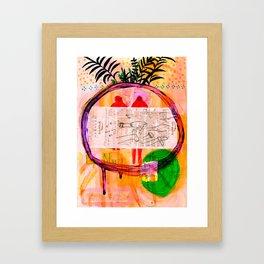 La nuit Framed Art Print