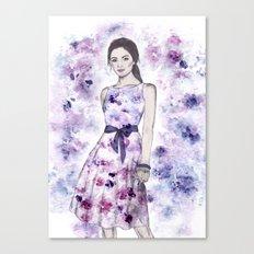 Spring fashion Canvas Print