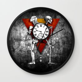 Trapped in the Moment Wall Clock