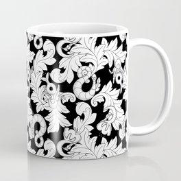 You and Me_ Background Black Coffee Mug