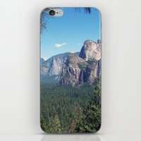 yosemite iPhone & iPod Skins featuring YOSEMITE  by Melissa Whitman