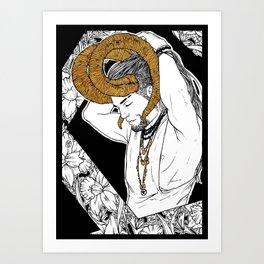 [Caelum Florescens] Aries Art Print