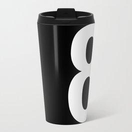 Lucky number: 8 Travel Mug