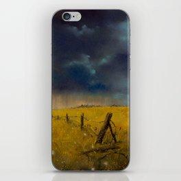 Rolling Thunder Pastel Art Print iPhone Skin