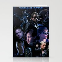saga Stationery Cards featuring Terminator Saga by Saint Genesis