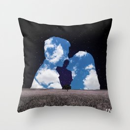 Dear Magritte Throw Pillow