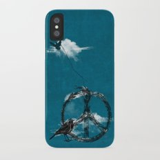 sewing birds Slim Case iPhone X