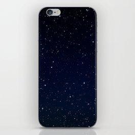 Night sky iPhone Skin