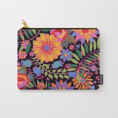Just Flowers Carry-All Pouch