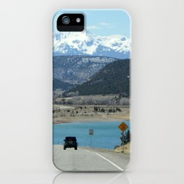 Colorado Mountain Lake iPhone Case