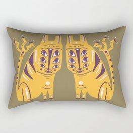 Electric Cat Rectangular Pillow