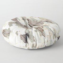 Bark Map Floor Pillow