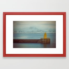 Harbourside Framed Art Print