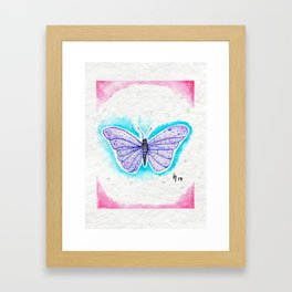 Colorful Roommate Framed Art Print