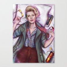 Beautiful Weirdo Canvas Print