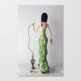 Madame Saturina Caterpillar Canvas Print