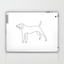 Beagle (Black) Laptop & iPad Skin