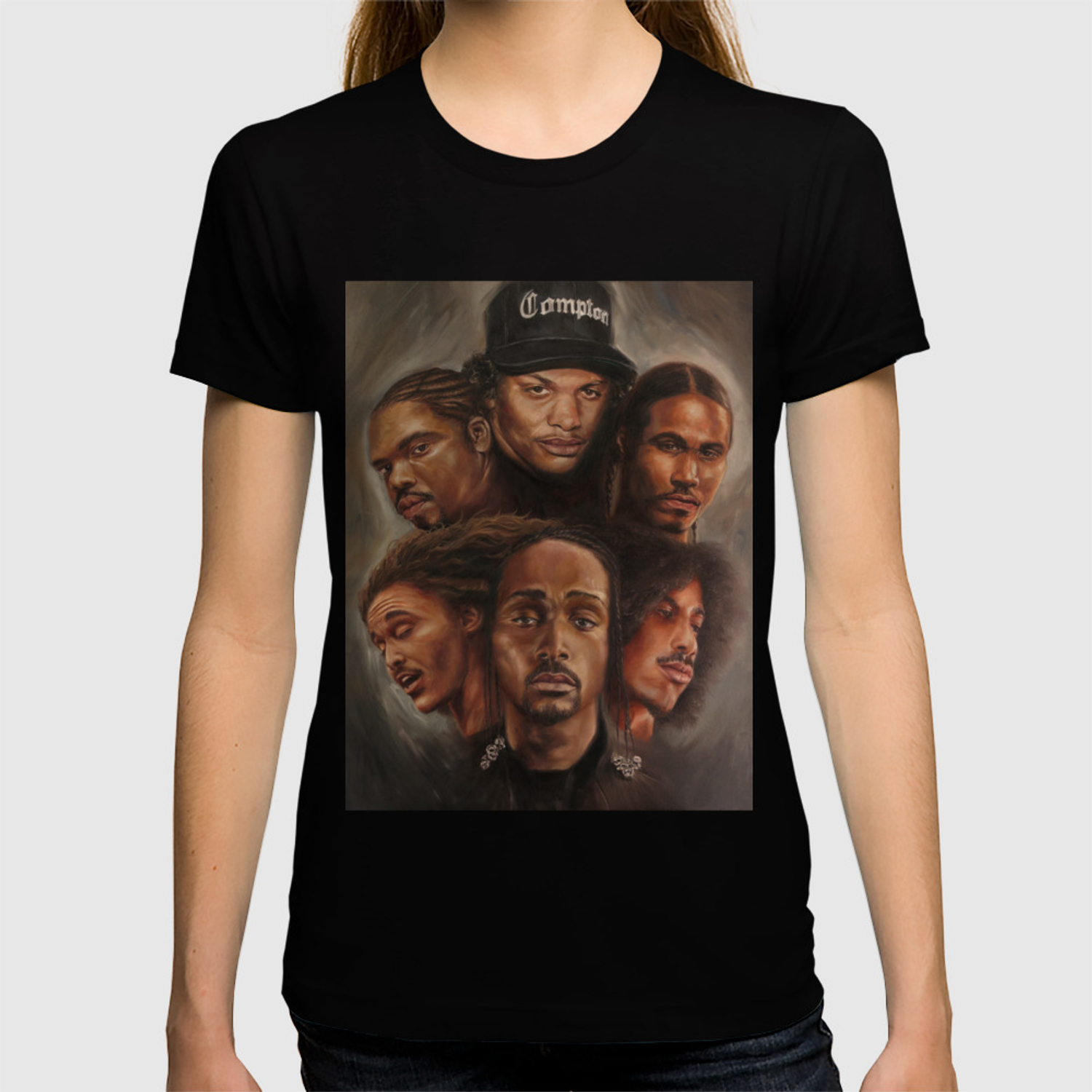 Bone Thugs N Harmony Oil Painting T Shirt By Theartofhim Society6
