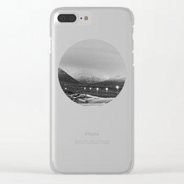 Varmahlíð Clear iPhone Case