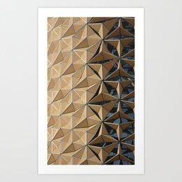 Al Bahar Towers Abu Dhabi Art Print