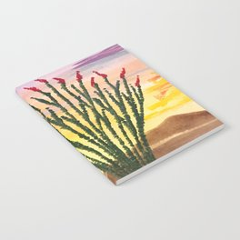 Beautiful Ocotillo 1 Notebook