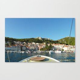 Approaching Land Canvas Print