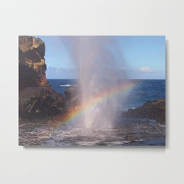 Pacific Rainbow Metal Print