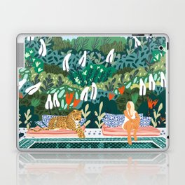 Chilling || #illustration #painting Laptop & iPad Skin