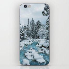 Blue Winter in Yosemite iPhone Skin
