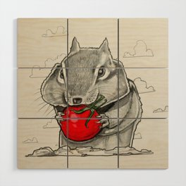 Chip n' Tomaters Wood Wall Art